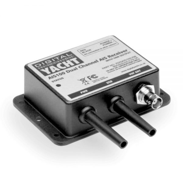 AIS100Pro is an AIS receiver with NMEA and USB connections