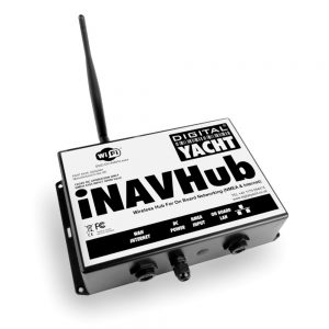 iNavhub is an marine WiFi router