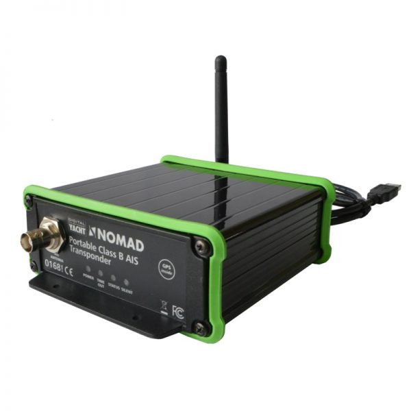 Nomad is a new, portable AIS transponder from Digital Yacht