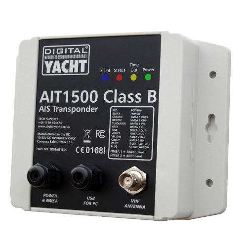 Entry level AIS Transponder with NMEA 0183 interface