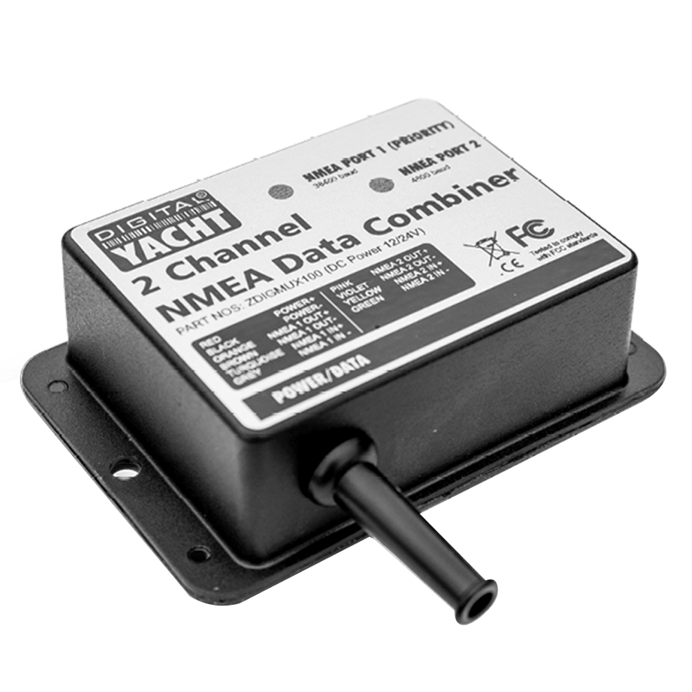 MUX100 is an NMEA 0183 multiplexer
