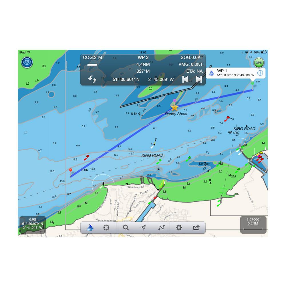Navlink Marine Navigation App Digital Yacht
