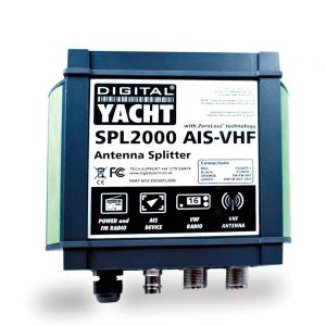 Patented zero loss technology AIS splitter lets you share your main VHF antenna with both the VHF and AIS.