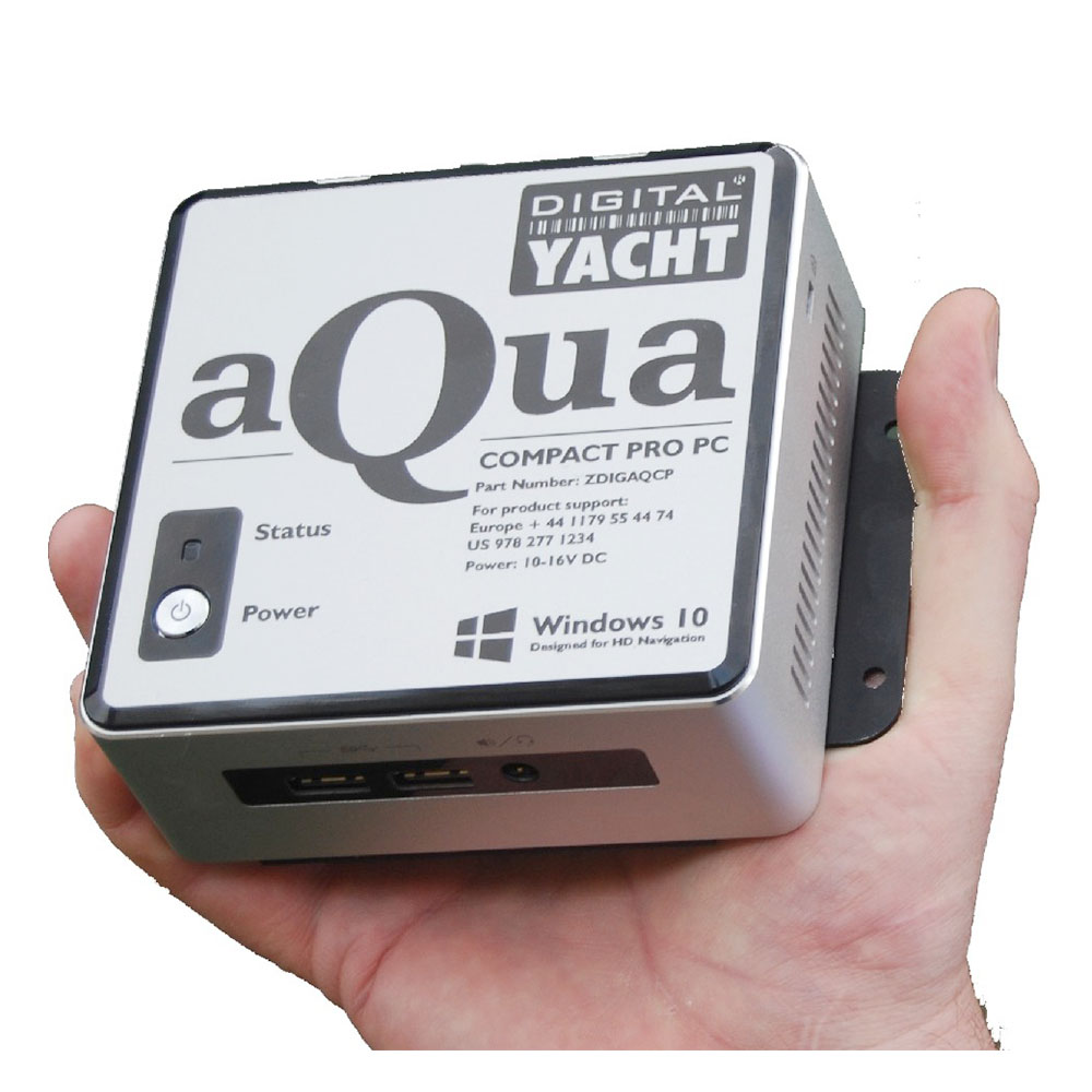 A super compact, ultra reliable marine PC