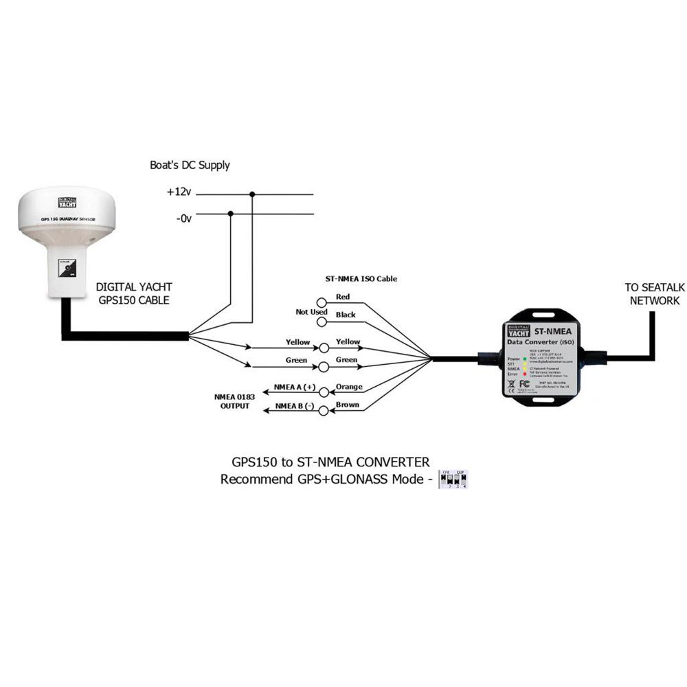 garmin 441s gps wiring diagram inilex gps wiring diagram new seatalk nmea converter + gps150 - digital yacht #6