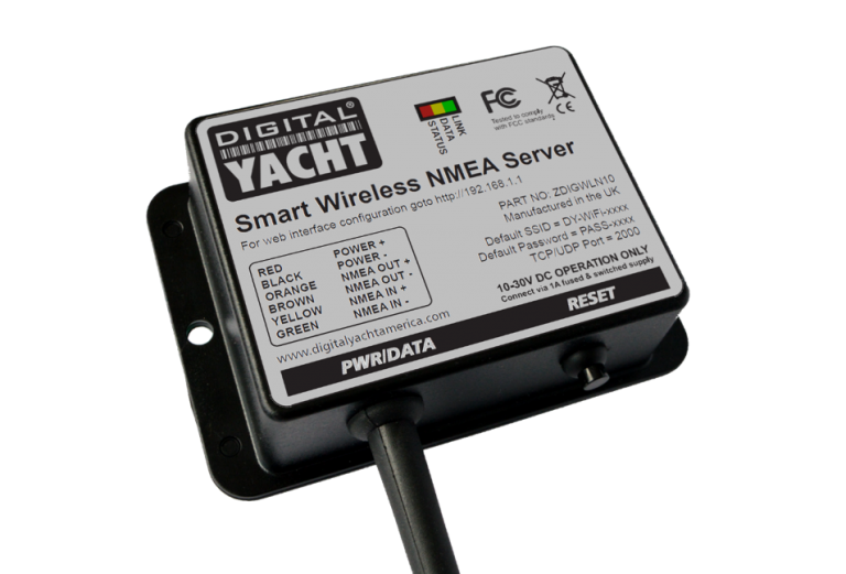 WLN10 Smart is a new smart NMEA to WiFI gateway