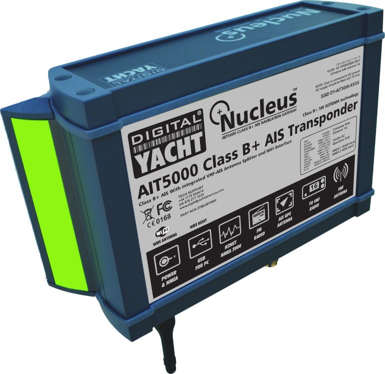 AIT5000 is a AIS transponder with a 5W power output
