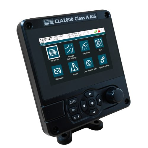 Menu of the CLA2000 Class A AIS Transponder
