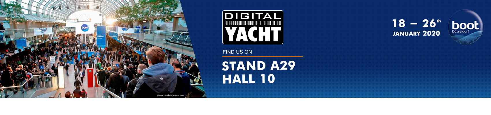 Digital Yacht at the Boot in Dusseldorf