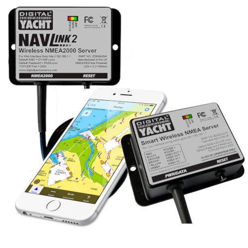 Portable Navigation NMEA to WiFi
