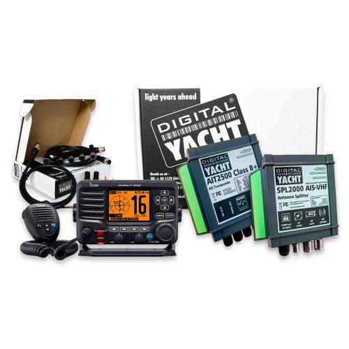 Add Class B+ AIS transponder capability to your Icom M506/M605 VHF