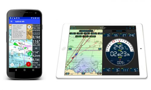 Receive NMEA data on navigation apps