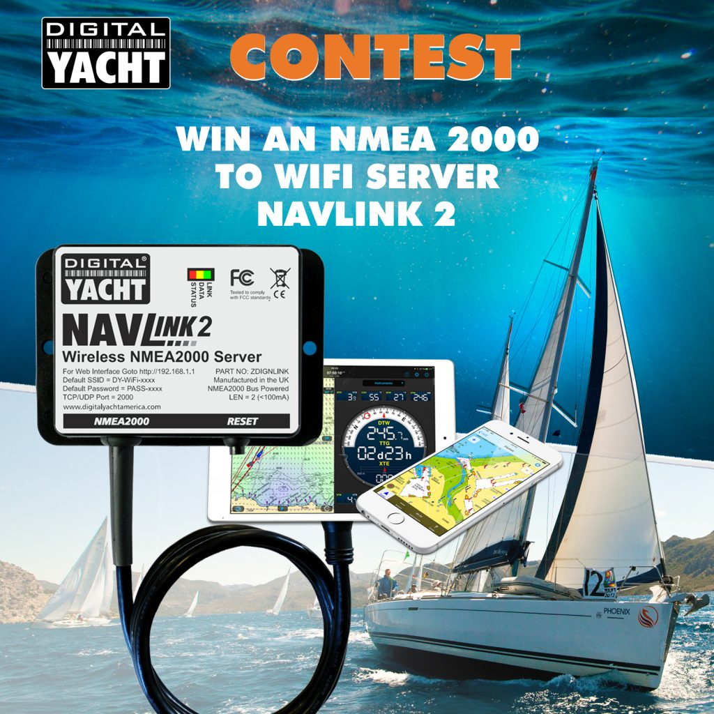 Digital Yacht facebook contest