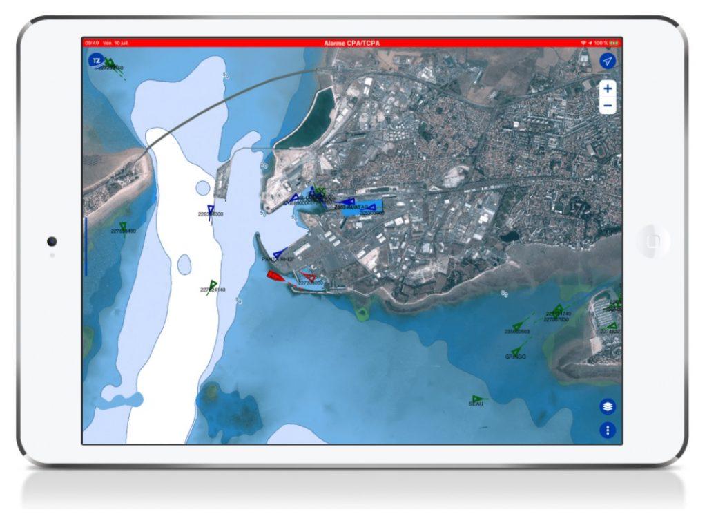 timezero avec digital yacht AIS