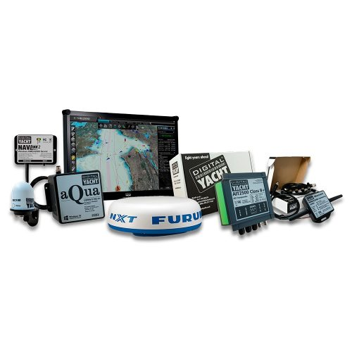 navigation PC with radar & timezero software
