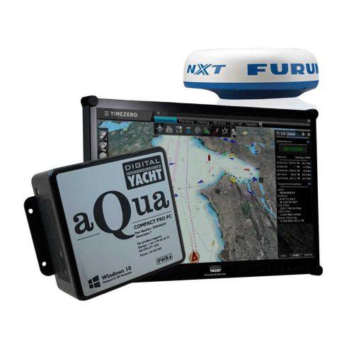 Nav PC with radar Furuno and TimeZero software