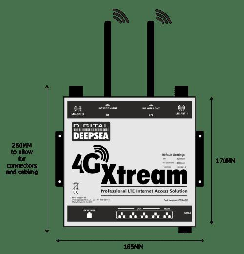 4G Xtream Dimension